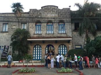 Casa de la Musica Miramar, lining up for Havana de Primera concert